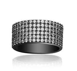JEWELLERY-RING-CORTE-CINQUE-WHITE-BLACK-RHODINERING