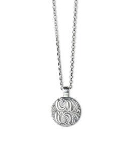 hals_brave_gorgeous_shield_silver_ankarkedja