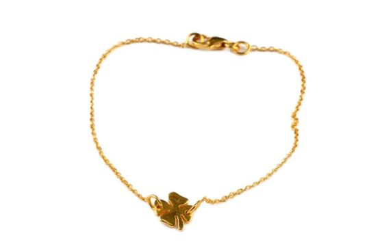 atn1024_Bring me luck bracelet- gold_NY