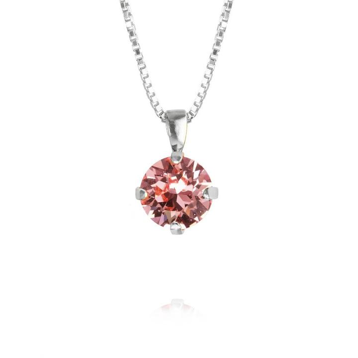 CLASSIC-PETITE-NECKLACE_LIGHT-ROSE_Rhodium