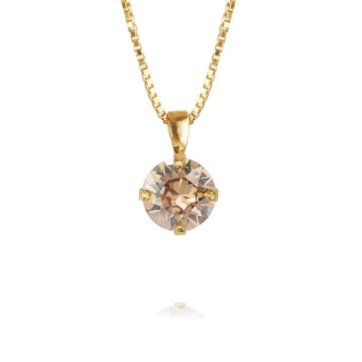 Classic-petite-necklace-Golden-Swadow