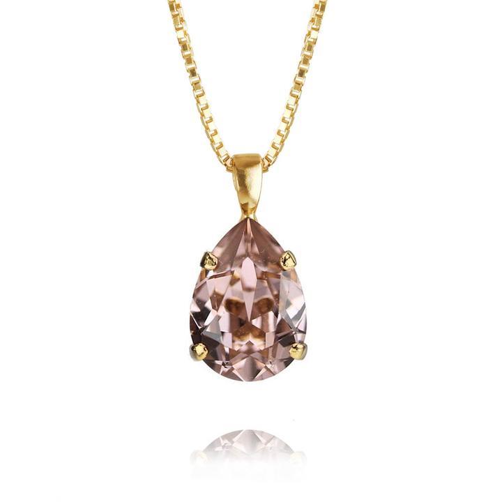 Mini-Drop-Necklace-VintageRose-Gold